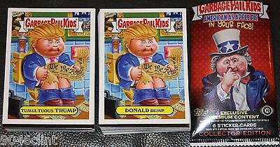 2016 GARBAGE PAIL KIDS AMERICAN AS APPLE PIE COMPLETE SET 220 CARDS + WRAPPER