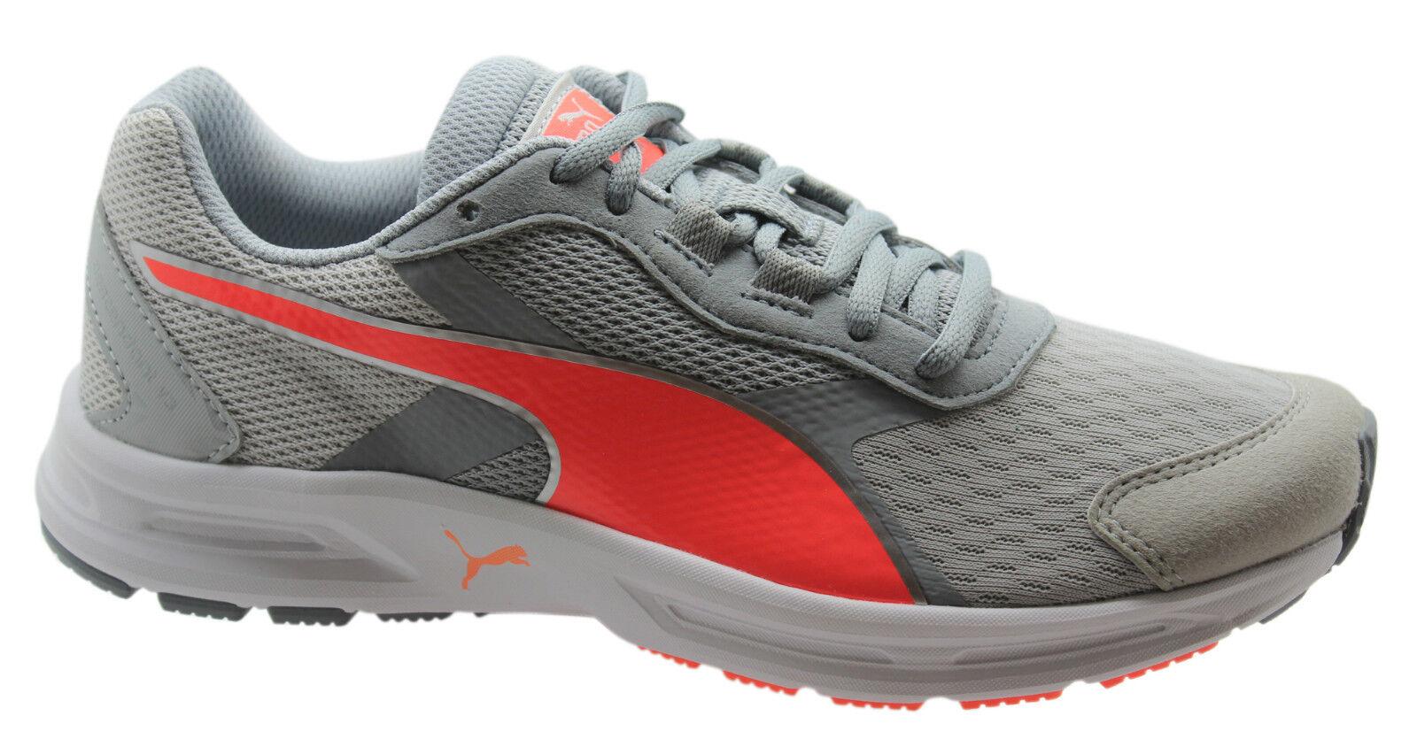 5b12b515592d Puma Descendant V3 Womens Trainers Running Shoes Grey Lace Up 188166 ...