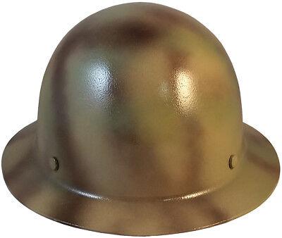 Msa Textured Camo Skull Gard Fiberglass Fb Hard Hat Ratchet Or Pin Lock Susp