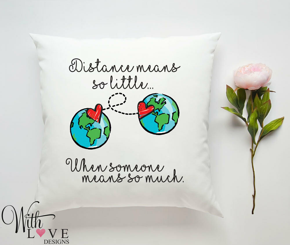 For long distance couples pillows The 5