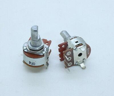 2 X 16mm Alpha B250k 250k Linear Taper Dual Potentiometer Right-angle Pc Mount