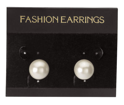 Hanging Black Velour Earring Cards 300 2 12 X 2 J- Channel Display Card