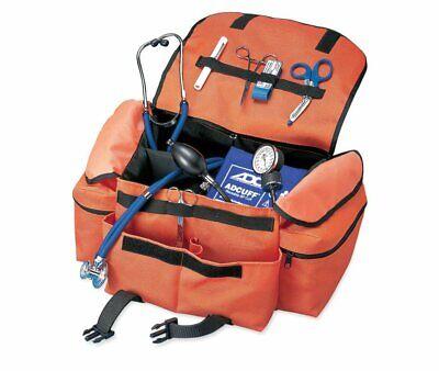 Adc Emt Case First Responder Trauma Bag Orange W Shoulder Strap 1025or - New