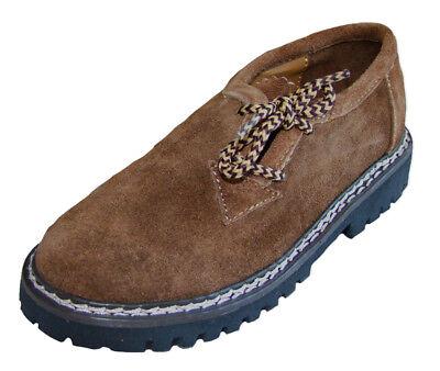 Trachten Schuhe Für Kinder (Kinder Trachten Haferlschuhe Kamel für Jungen Halbschuhe zur Tracht Lederhose)