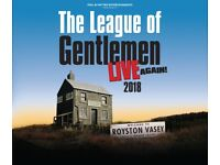 2 x tickets for The League of Gentlemen Live in Birmingham this friday 14th