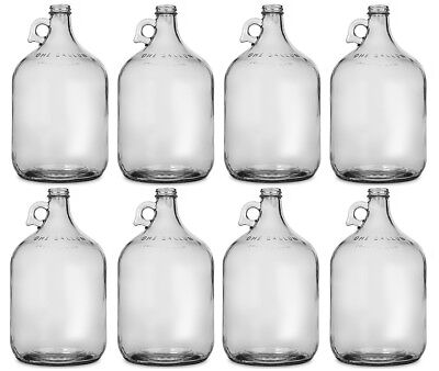 Glass Jug, 1 gallon (Pack of 8) Fermentor / Carboy