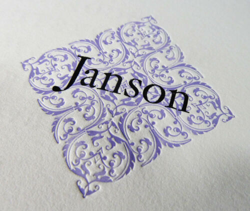 New Letterpress Type - 18 pt. Janson