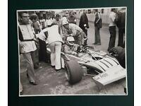 ORIG Clay Regazzoni fórmula 1 piloto 1972 sammelbild