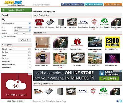 Ads Listing Website   Free Install