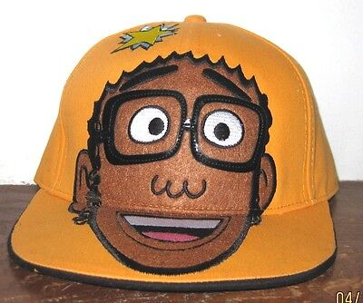 Yo Gabba Gabba! DJ LANCE Flat Bill  SNAPBACK One Size Adjustable Hat Cap ()