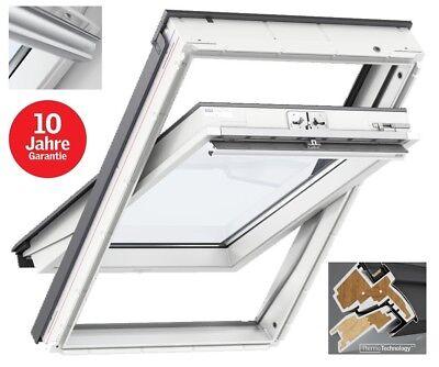 Dachfenster Kunststoff Velux GGU GLU Thermo Fakro Skylight RoofLite + Eindeckr.