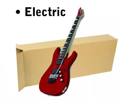 1 Of 18x6x45 Electric Guitar Shipping Packing Boxes Moving Keyboard Heavy Duty