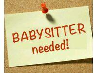 Babysitter needed