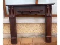 Solid Mahogany Fireplace Surround