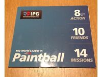 Cheap Paintball Tickets - ideal gift, team building, day out, experience!