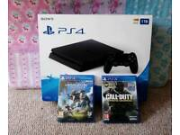 Ps4 slim 1tb Brand new & games