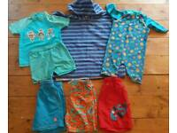 Boys beach/swimwear bundle 3-4yrs