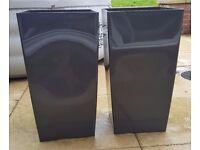 Anthracite Grey Plastic Tall Planters Garden Pots [Indoor/Outdoor] H53cm ** TO GO TODAY **