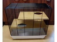 Large hamster / gerbil / mouse cage and accessories bundle