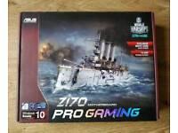 Asus Z170 Pro Gaming Motherboard - Skylake and Kabylake CPU ready