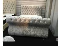 Sleigh chesterfield bed 3ft4,6ft5ft6ft