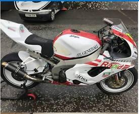 Kawasaki Zx9R Track Bike with Daytime MOT