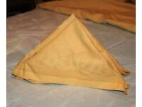 47 Golden Yellow cloth napkins, subtle floral patterning, wedding, party