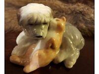 Royal Copenhagen Figurine - Mini Collection - Old English Sheepdog (752)