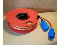 Mains Hook Up Cable and Reel