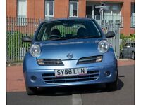 Nissan Micra - Light Blue - Petrol - Manual - 46809 miles - £1,800.00 OVNO