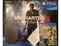 PS4 Slim, Brand New Sealed With two games and receipt