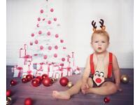 Christmas mini photo shoot • newborn&kids