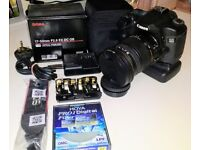 Canon 40d & canon BG-E2N Battery grip & Sigma 17-50mm F2.8 EX DC OS LENS ** Reduced price**