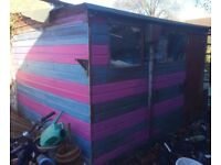 Large 10x8 shed