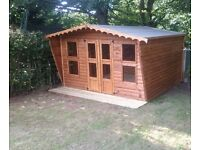 SHEDS, SUMMERHOUSES, PLAYHOUSES, DOG KENNELS AND OTHER GARDEN BUILDINGS.