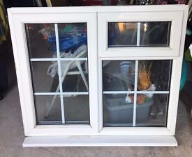 Double Glazed UVPC Window White