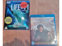 2 X 3D BLU-RAY MOVIES (wrath of the titans / life of PI) vgc - £5