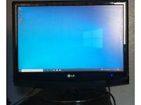 """LG M2094D 20"""" Widescreen LCD TV/Monitor (1680x1050, 5ms, 20000:1, HDMI, Black)"""
