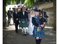 TOP CLASS EDINBURGH PIPER FOR HIRE AND BAGPIPE TUTOR - all levels of bagpipe tuition