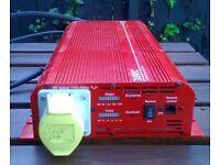 Durite 1500 watt inverter 12v to 110v