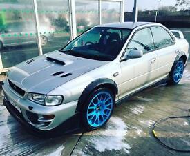 Subaru Impreza uk2000 gc8 awd