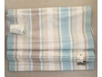 A NEW WITH TAGS LAURA ASHLEY ROMAN BLIND LINED