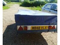 6x4 trailer with cover Open to offers