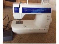 TOSHIBA SEWING MACHINE AS NEW CONDITION