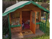 Childrens Wendy house.