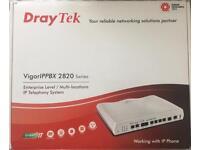 Draytek IPPBX 2820nADSL modem/router