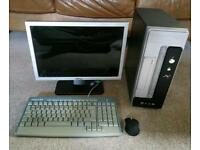 Complete desktop Pc win 7 dual core small itx