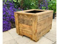 Bespoke Rustic Wooden Planter