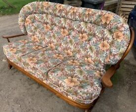 Conservatory 3 seater sofa