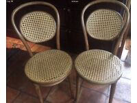 Wicker/Rattan Wooden Dining Chairs